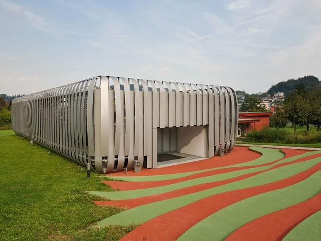Aussaufnahme des iHomeLab in Luzern.