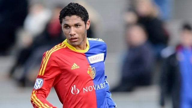Wegen ihm landete der FCB notfallmässig in Berlin: Mohamed Elneny.