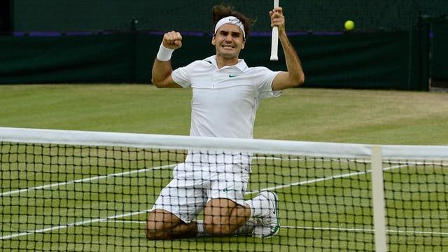 Der 7. Wimbledon-Titel brachte Roger Federer zurück auf den Tennis-Thron.
