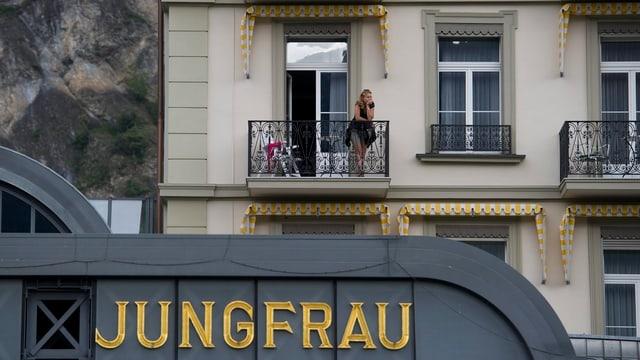 Das Hotel Victoria-Jungfrau in Interlaken (Archivbild).