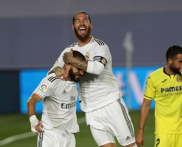 Karim Benzema überzeugte in dieser Saison als bester Skorer (21 Tore und 8 Assists) von Real Madrid. Neben ihm war Sergio Ramos einer der entscheidenden Spieler. Der Real-Kapitän war in der Defensive gewohnt solide und traf als Innenverteidiger 11 Mal.