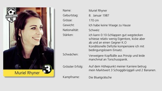 Schlägt ab und zu mal einen Gegner K.O.: Frontfrau von den Delilahs Muriel Rhyner.