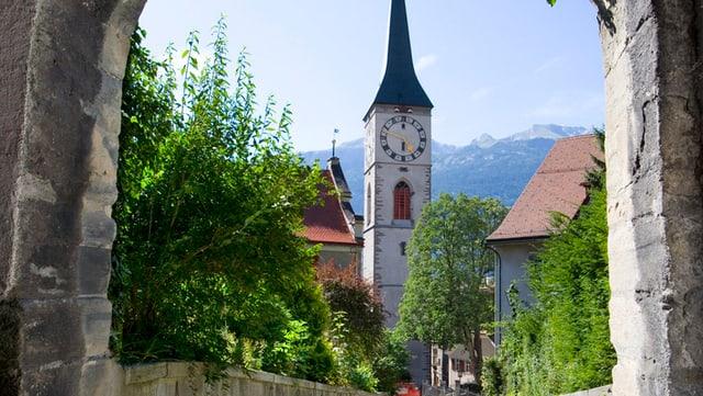 Blick auf die Kirchgemeinde St. Martin in Chur