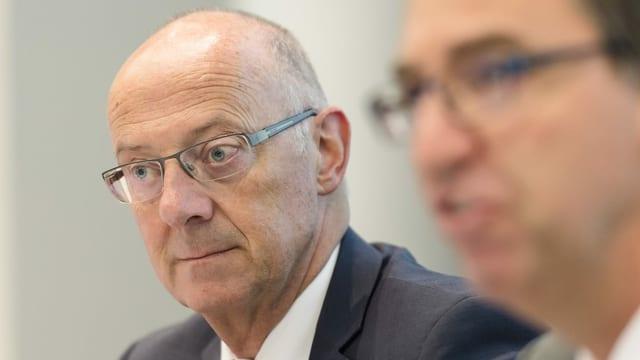 Ehemaliger Topmanager Hans Ziegler.
