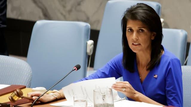 Nikki Haley im UNO-Sicherheitsrat.
