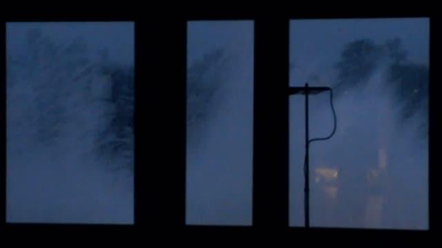 Fontäne am Fenster