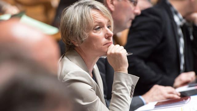Elisabeth Schneider-Schneiter sitz im Nationalrat