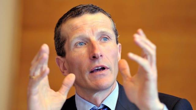 Der BL-Wirtschaftsförderer Marc-André Giger