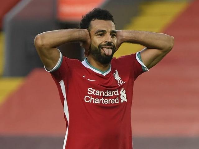 Mohamed Salah erzielt gegen Leeds einen Hattrick.