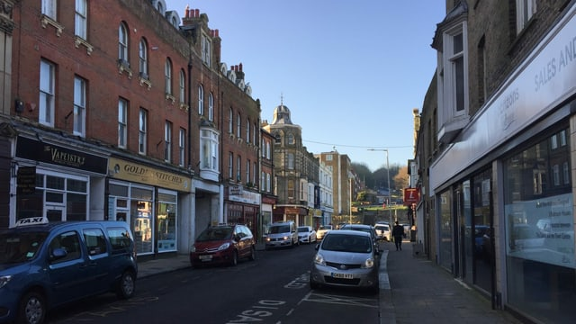 In Dover hofft die Bevölkerung auf ein gutes Freihandelsabkommen mit der EU.