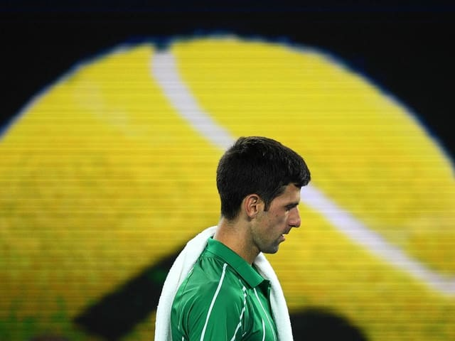 Der 17-fache Grand-Slam-Champion Novak Djokovic.