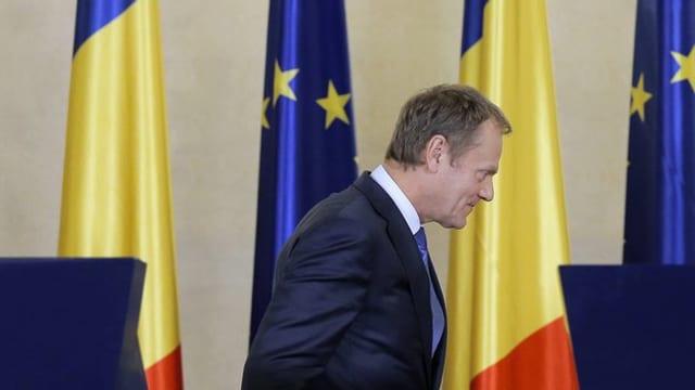Donald Tusk, il president dal cussegl da l'UE.
