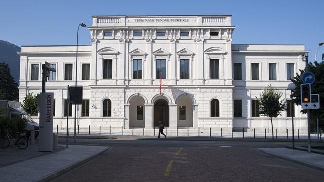 Bundesstrafgericht in Bellinzona.