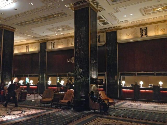 Hotellobby.
