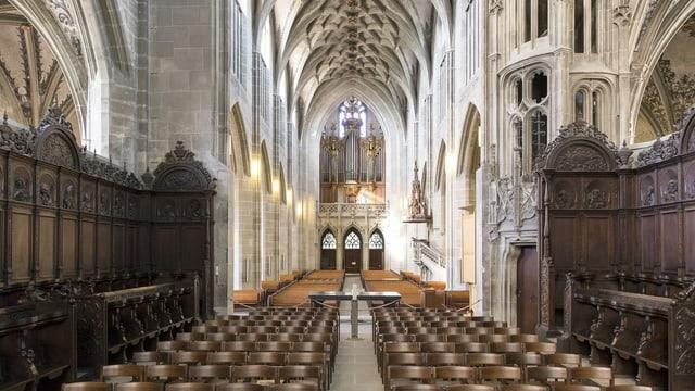Innenraum des Münsters.