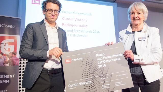 Curdin Vincenz und Hildegard Jutz