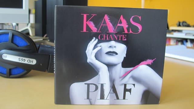 CD Cover von «Kaas Chante Piaf»