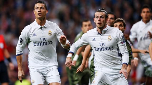 Ronaldo und Bale