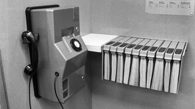 Telefonkabine 1972