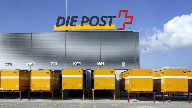 Il center da pachets a Frauenfeld.