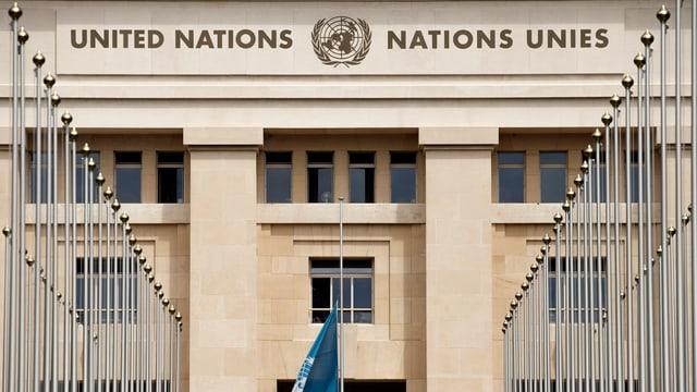 Purtret dal bajetg da las Naziuns Unidas a Genevra.