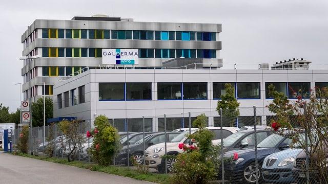 Fabrikareal Galderma Egerkingen