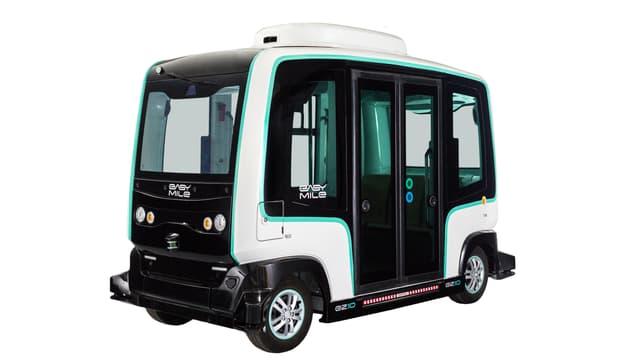 «Milo» der französischen Firma Easy Mile ersetzt den den selbstfahrenden Bus «Olli» aus Deutschland.