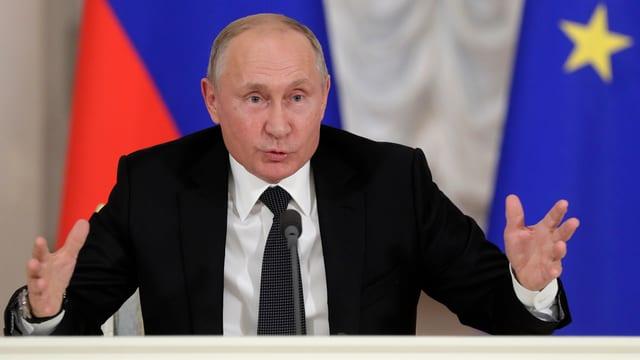 Putin spricht zu Skripal in St. Petersburg