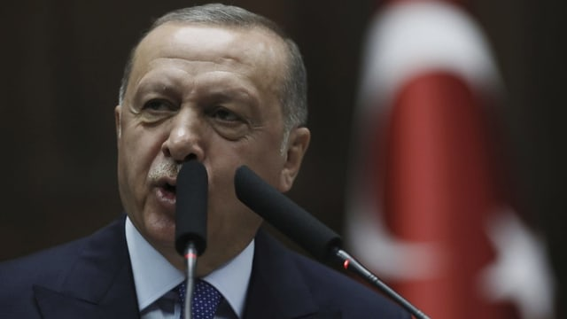 Erdogan will sich nur mit Trump persönlich Treffen