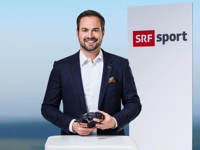 Stephan Liniger wird künftig Tennis und Handball kommentieren.