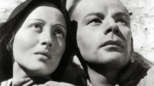 Luise Rainer und Paul Muni im Film «The Good Earth»