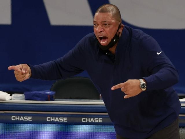 Doc Rivers, Trainer der Philadelphia 76ers.