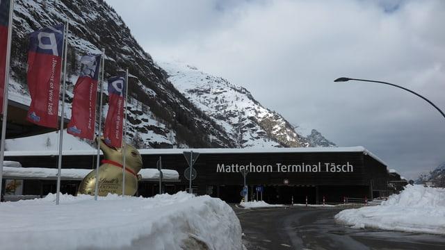 Matterhorn Terminal Täsch.