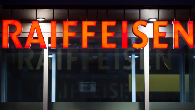 Il logo da la Raiffeisen.