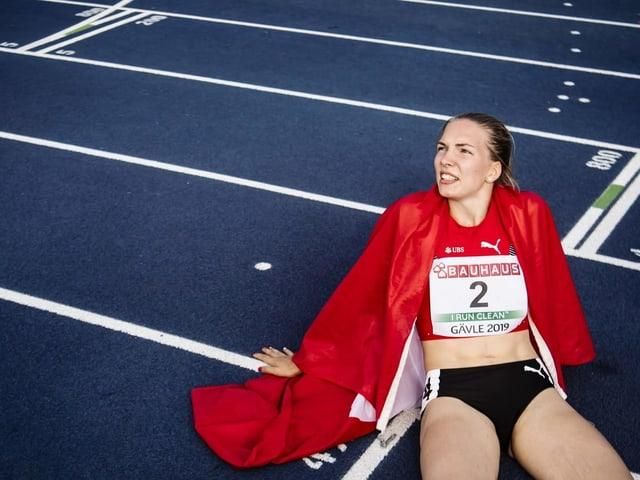 Siebenkämpferin Géraldine Ruckstuhl.