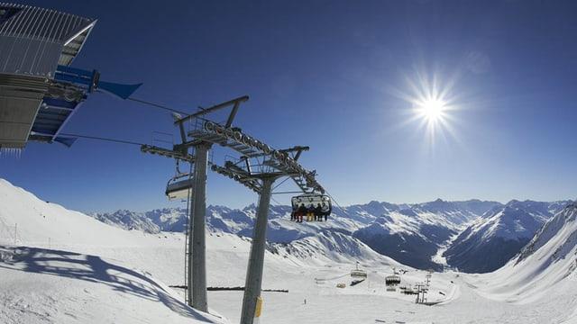 In Klosters könnte die Ski-WM für Behinderte durchgeführt werden.