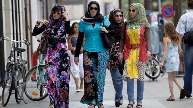 Muslimische Frauen in Genf