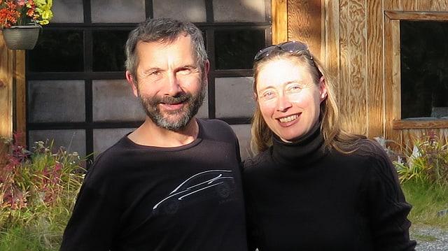 Audubon Bakewell und Jenny Rodina