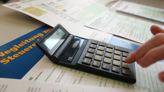 Taschenrechner, Steuererklärung