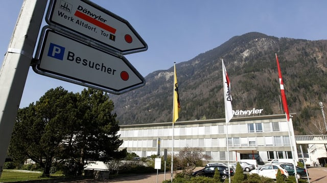 Die Firma Dätwyler in Altdorf.