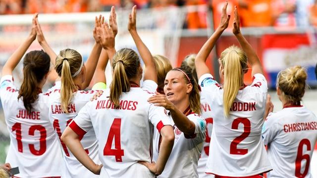 Dänische Nationalspielerinnen
