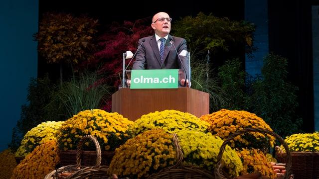 Nicolo Paganini will seinen 100%-Job als Olma-Direktor weiter ausüben.