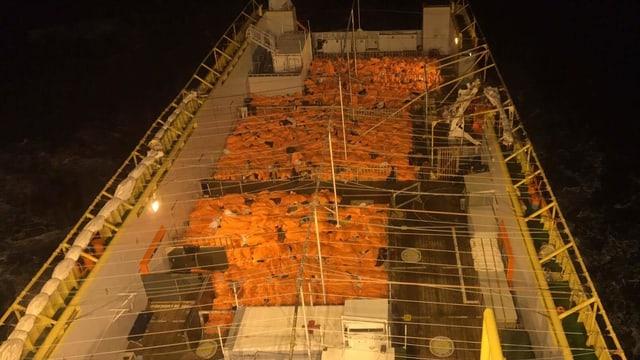 Am Osterwochenende wagten besonders viele die gefährliche Überfahrt von Libyen nach Italien.
