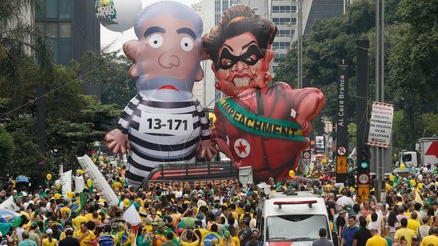demonstraziuns a Sao Paolo