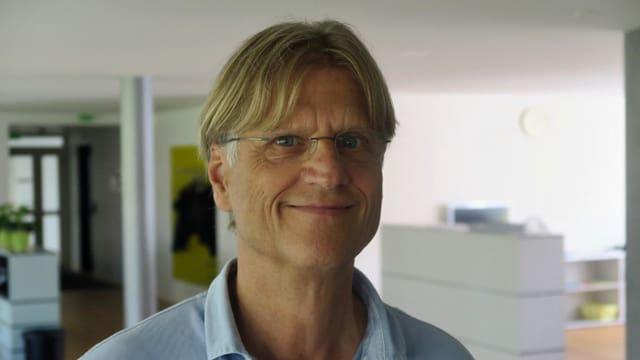 Franz Bachmann organisierte die 26. Ausgabe der Luzerner Open Air Kinos.
