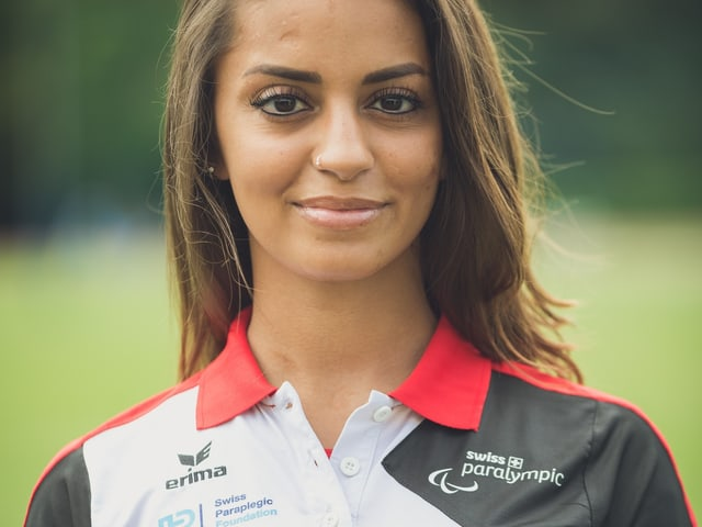 Sprinterin Abassia Rahmnai