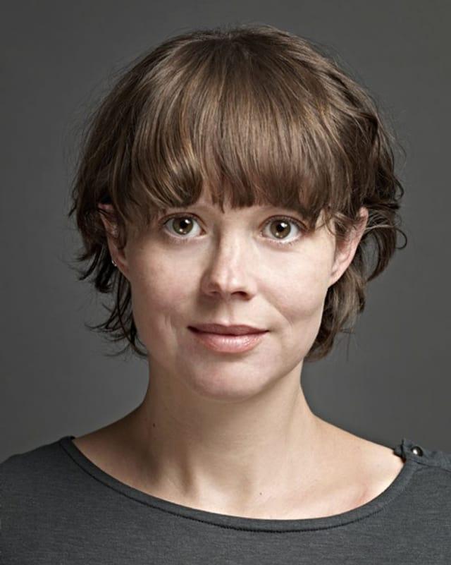 Porträt der interviewten Philosophin Susanne Schmetkamp.