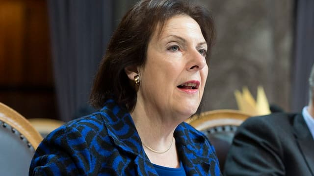 Christine Egerszegi im Ständerat