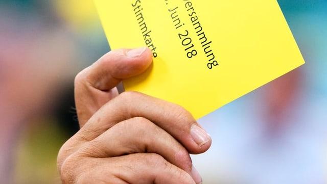 Stimmkarte