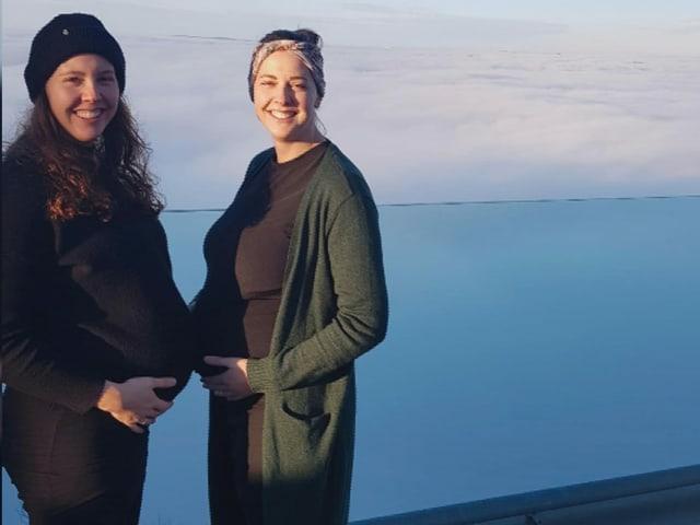 Die «Bobzwillinge» Rahel und Eveline Rebsamen.